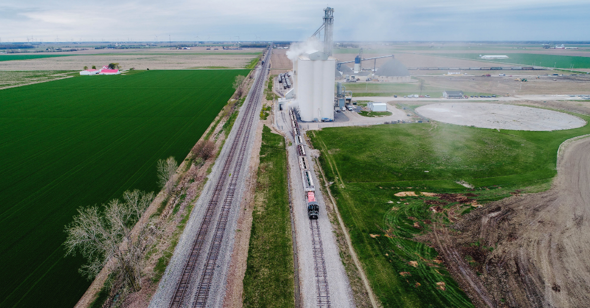 Latty Terminal Loads Unit Trains with Grain Headed to New Global and Domestic Markets